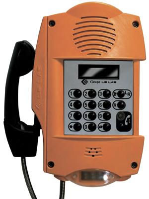 Промышленный телефон во  взрывозащищенном исполнении для систем технологической связи